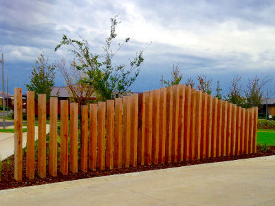 special features including fences