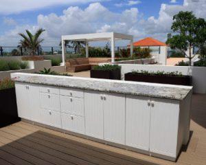 composite deck builders melbourne outdoor kitchen
