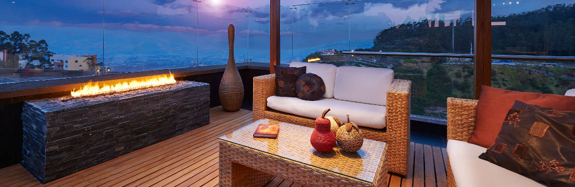 outdoor fireplace decking melbourne