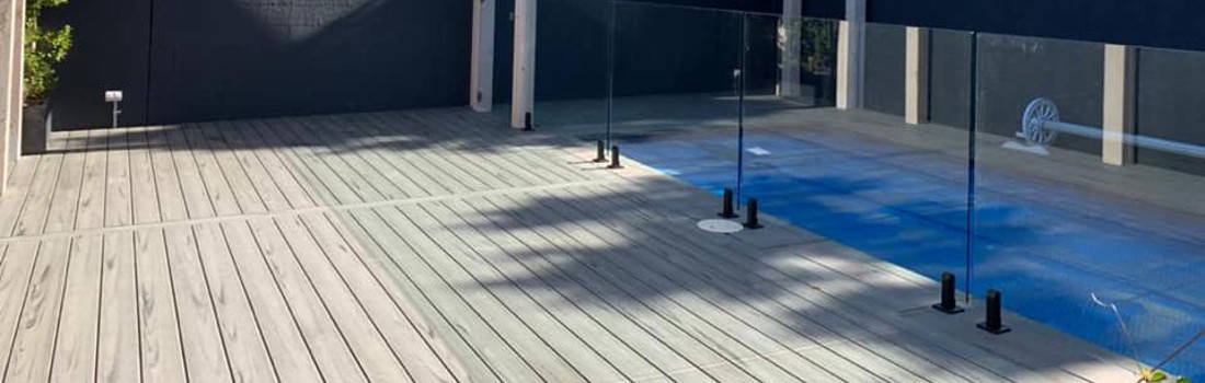 composite deck builder melbourne surrounding swimming pool