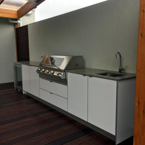 Kitchenette for Outdoor living project in Cheltenham