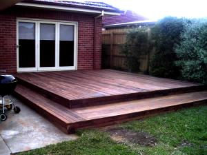 Timber decking with Merbau for outdoor entertaining
